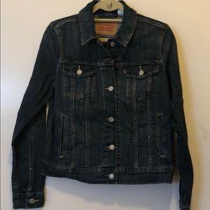 Levi's Denim Jacket w/ Heart Embellishment